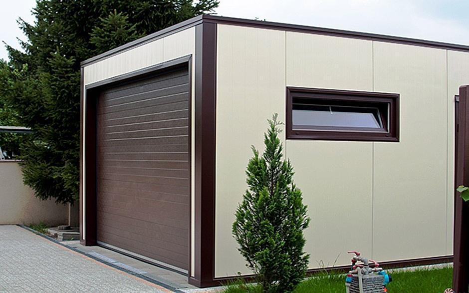 План участка с гаражом